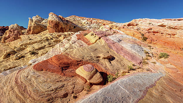 Valley of Fire Rainbow Vista by Pierre Leclerc Photography