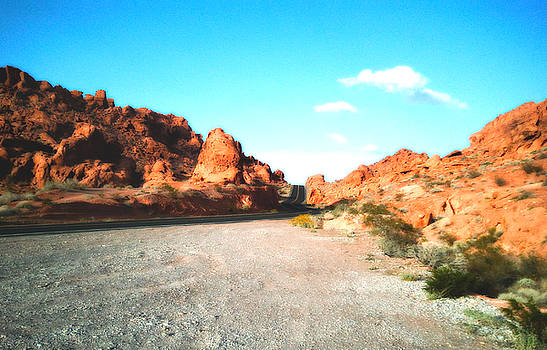 Valley of Fire Road by Sheryl Chapman Photography