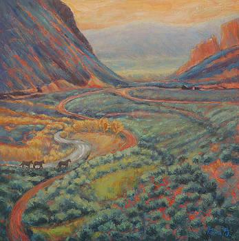 Valley Passage by Gina Grundemann