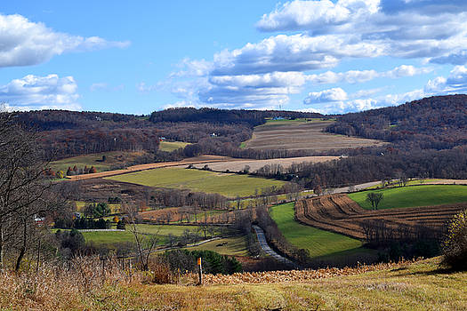 Valley View Dutchess County New York by Diane Lent