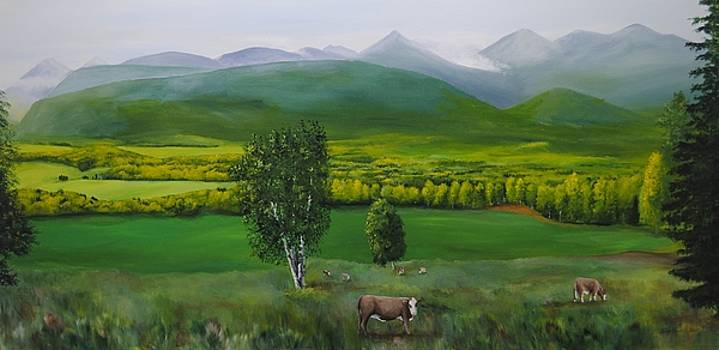 Valley view by Glen Frear