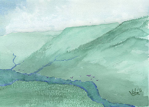 Valley View by Victor Vosen