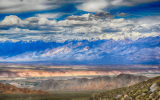 Valley,Mountains and Sky by AJ Schibig