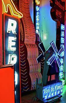 Van De Kamps Neon Photograph by Uli Gonzalez