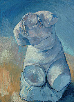Van Gogh Female Torso by Vincent Van Gogh