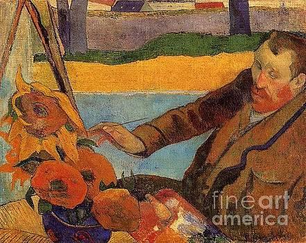 Renoir - Van Gogh Painting Sunflowers