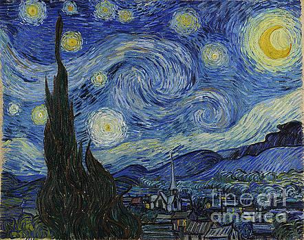 R Muirhead Art - Van Gogh Starry Night