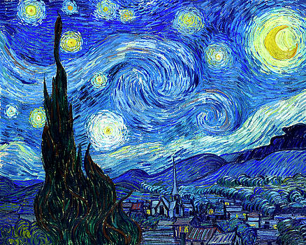 Van Gogh Starry Night by Vincent Van Gogh
