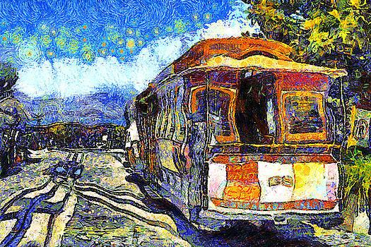 Wingsdomain Art and Photography - Van Gogh Vacations In San Francisco 7D14099