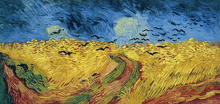 Van Gogh Wheatfield with Crows by Vincent Van Gogh