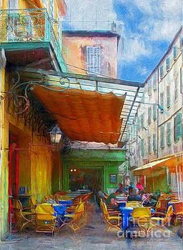 Van Gogh's Cafe  by John Kolenberg