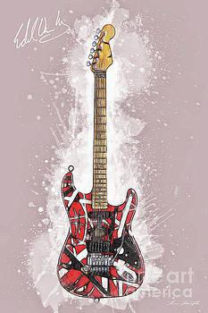 Van Halen Guitar by Tim Wemple
