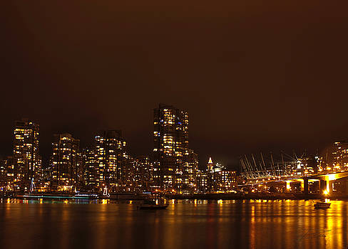 Barbara  White - Vancouver at Night