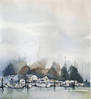 Vancouver Boats by Stephanie Aarons