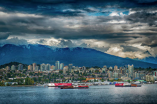 Vancouver By The Sea by Joseph Hollingsworth