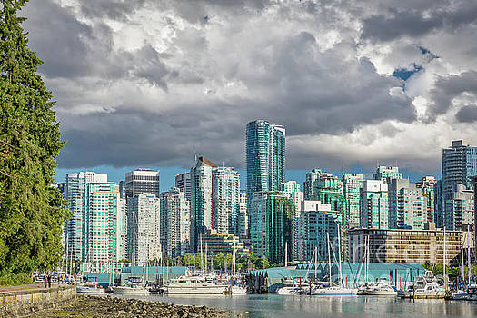 Vancouver Skyline 1 by Jerry Fornarotto