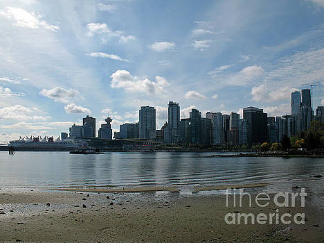 Connie Fox - Vancouver Skyline 2015 at Stanley Park II