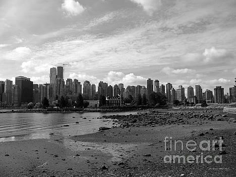 Connie Fox - Vancouver Skyline 2015 BW