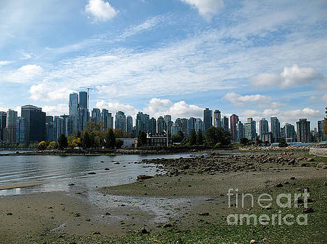 Connie Fox - Vancouver Skyline 2015 From Stanley Park