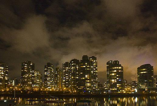 Barbara  White - Vancouver Skyline