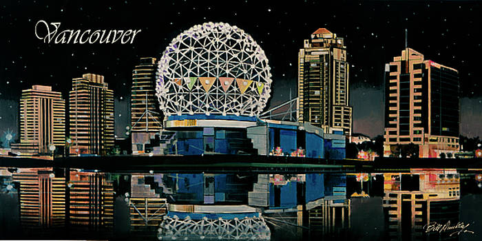 Vancouver Skyline by Bill Dunkley