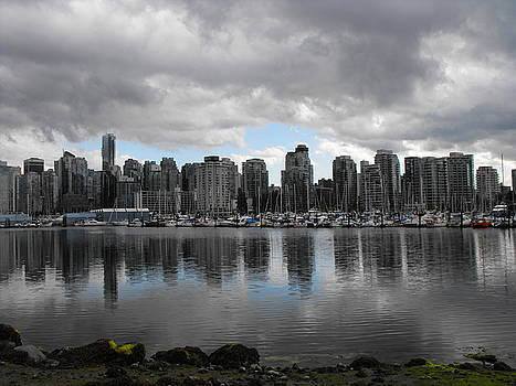 Vancouver Skyline by Marianne Mason