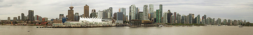 Vancouver Skyline by Peter J Sucy