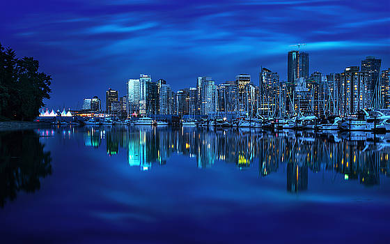 Vancouver's Mirror by Mohsen Kamalzadeh