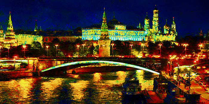 VanGogh Moscow by Arthur Charpentier