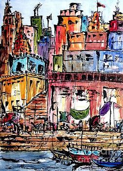 Varanasi Ghats by Garima Srivastava