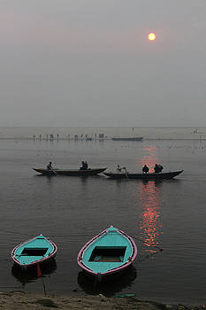 Varanasi India by Kurt Williams