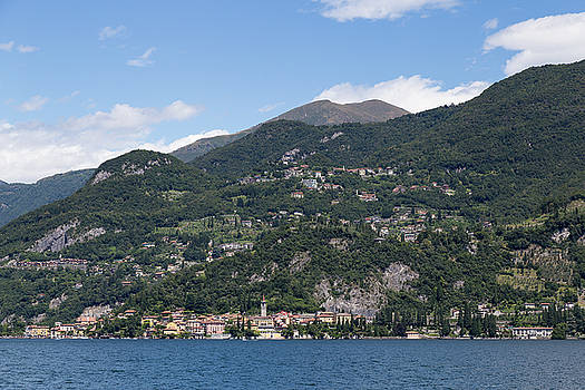 Varenna on Lake Como by Patricia Schaefer
