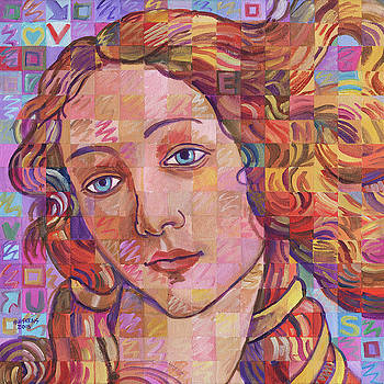 Variations On Botticelli's Venus - No. 13 by Randal Huiskens