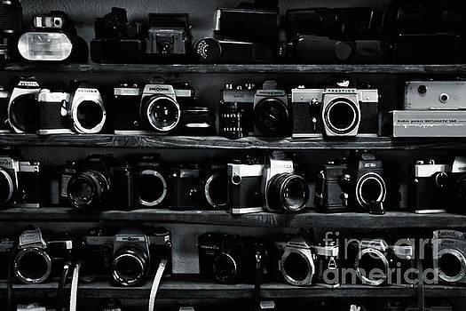Various old cameras by Magomed Magomedagaev