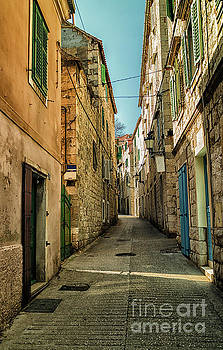 Varos Neighborhood, Split Croatia by David Daniel