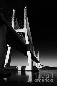 Vasco da Gama Bridge Lisbon 4 by Rudi Prott