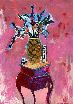 Vase and Flowers by John Douglas