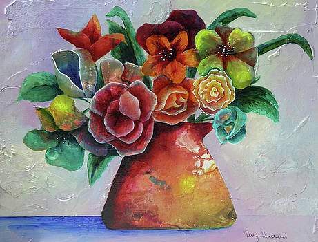 Vase Full of Peace and Delight by Terry Honstead