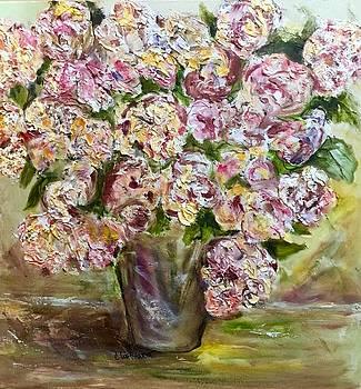 Vase of flowers by Chuck Gebhardt
