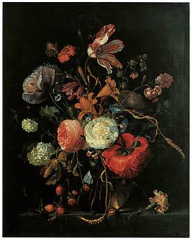 Jacob Van Walscapelle - Vase of Flowers
