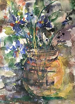 Vase of Many Colors by Robin Miller-Bookhout