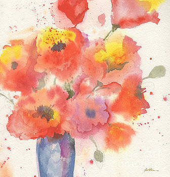 Vase of Poppies by Sheila Golden