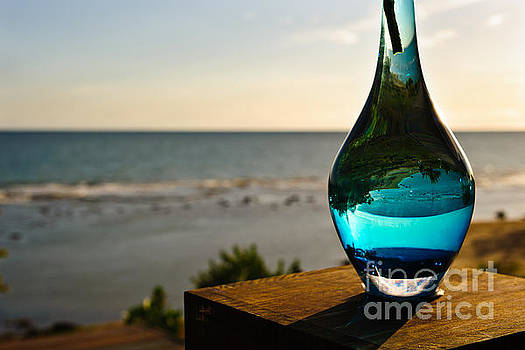 Vase - Treasure Beach - Jamaica by Marc Evans