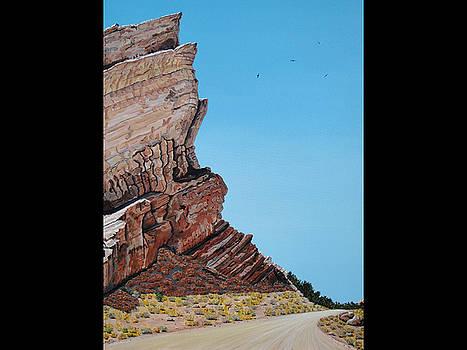 Vasquez Rocks 3 by Stephen Ponting