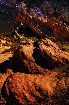 Mike Penney - Vasquez Rocks and stars
