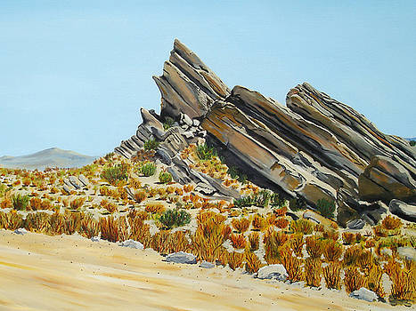Vasquez Rocks Looking South by Stephen Ponting