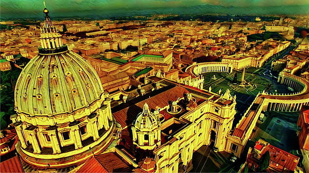 Vatican City Rome Italy by Russ Harris