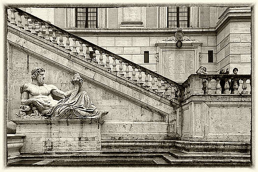 Vatican Gardens Rome by Alex Saunders