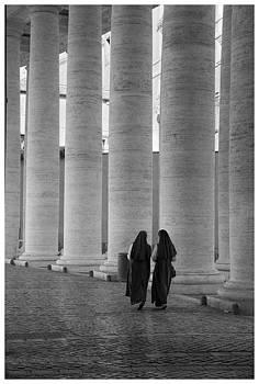 Vatican Stroll by Eric  Bjerke Sr