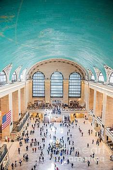 Vault of the Heavens at Grand Central Terminal by Jim DeLillo